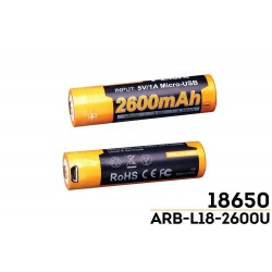 fenix batteria ricaricabile...